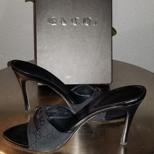 AUTHENTIC ❣GUCCI GUCCI HEELS SIZE 8/38